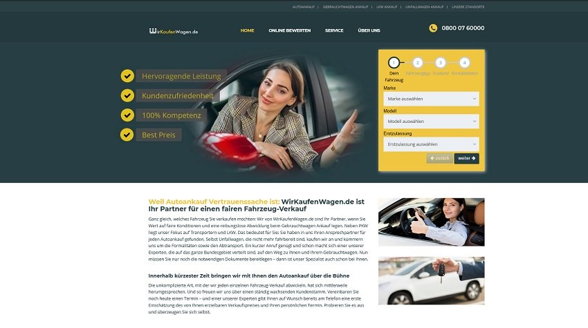 Autoankauf Oberhausen : Profitieren Sie von unserem Service