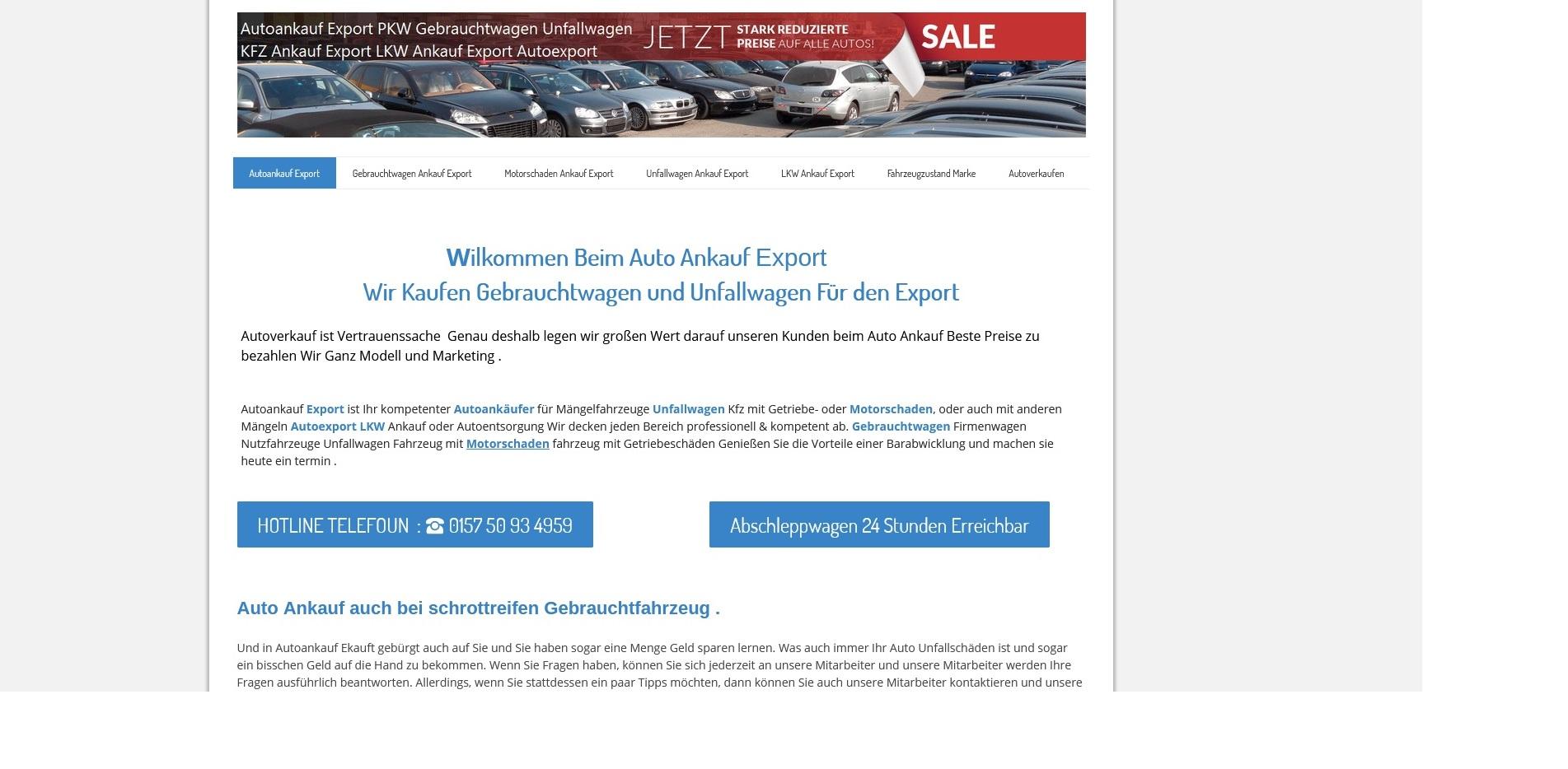 Autoankauf Herne - Kfz-Ankauf-export.de