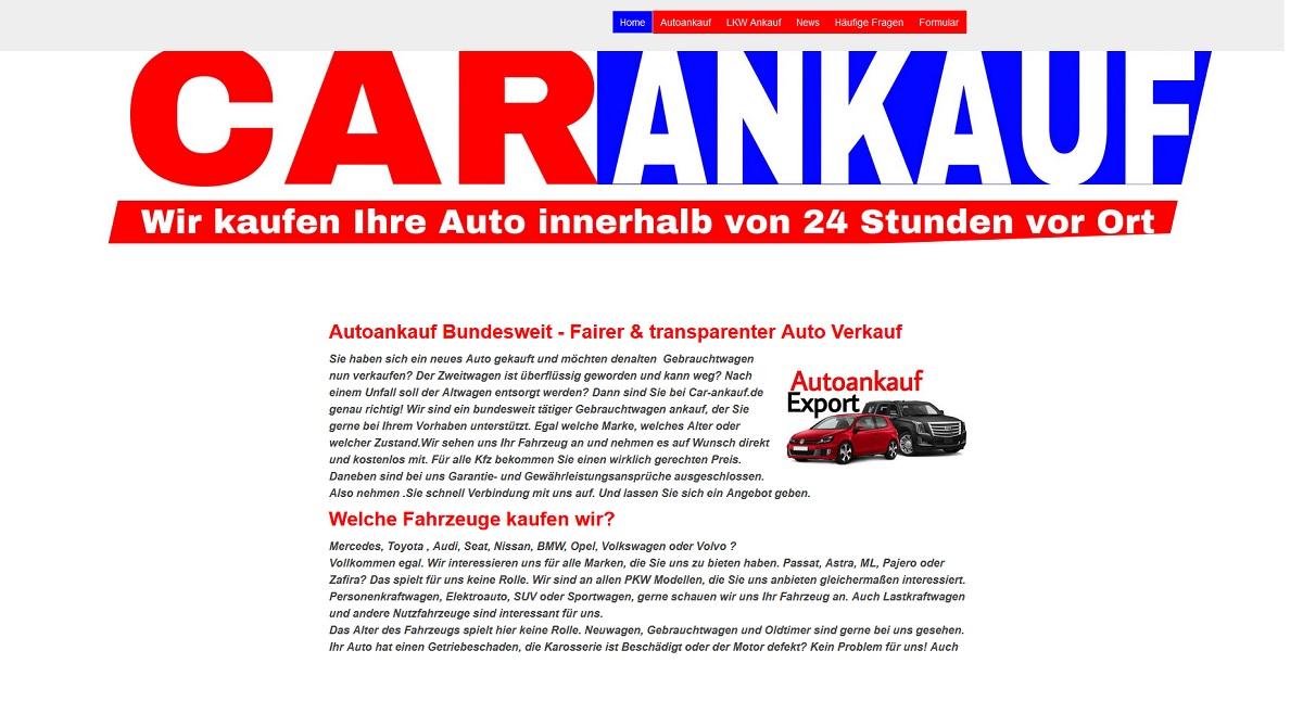 Autoankauf Homburg