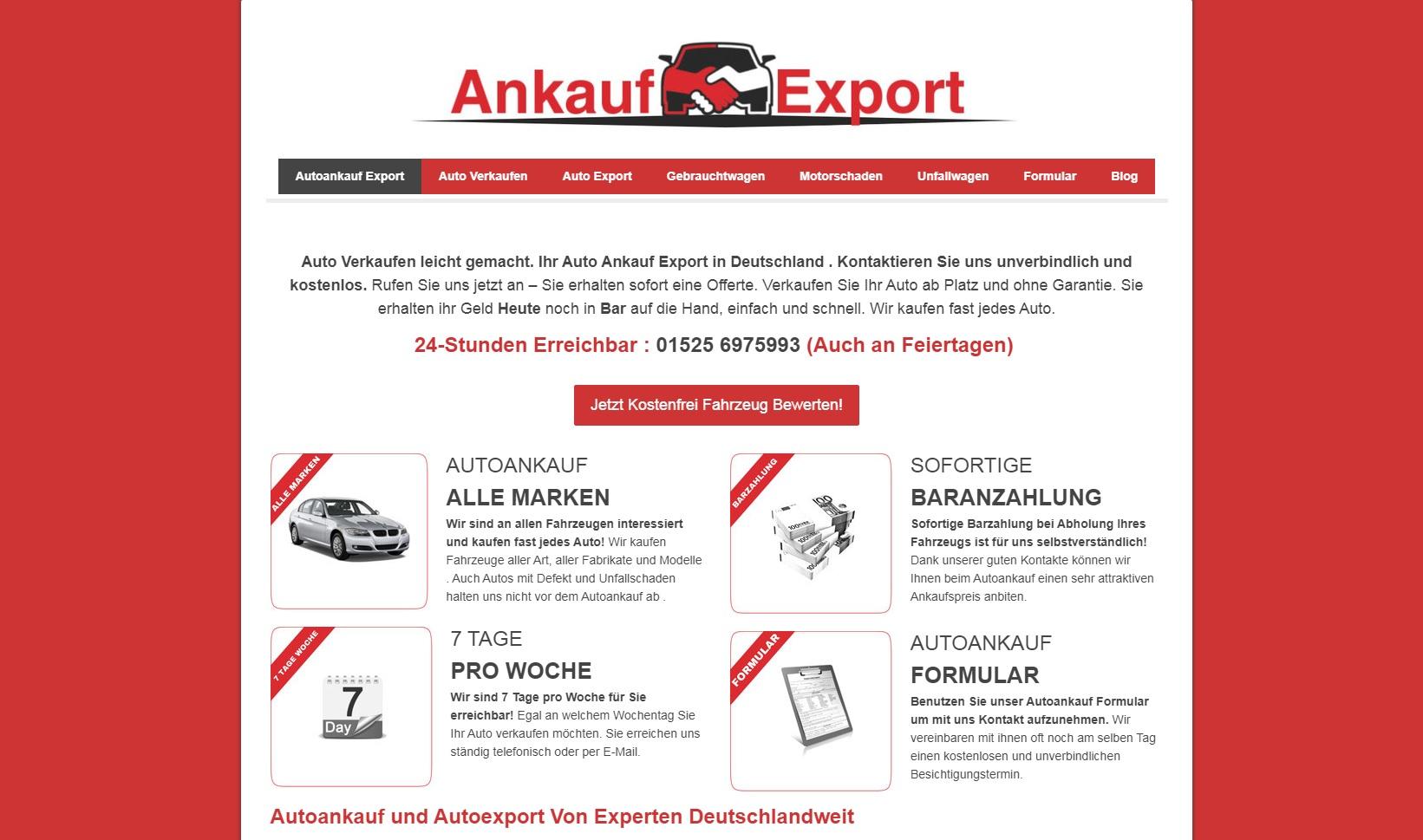 Autoankauf in Bad Homburg