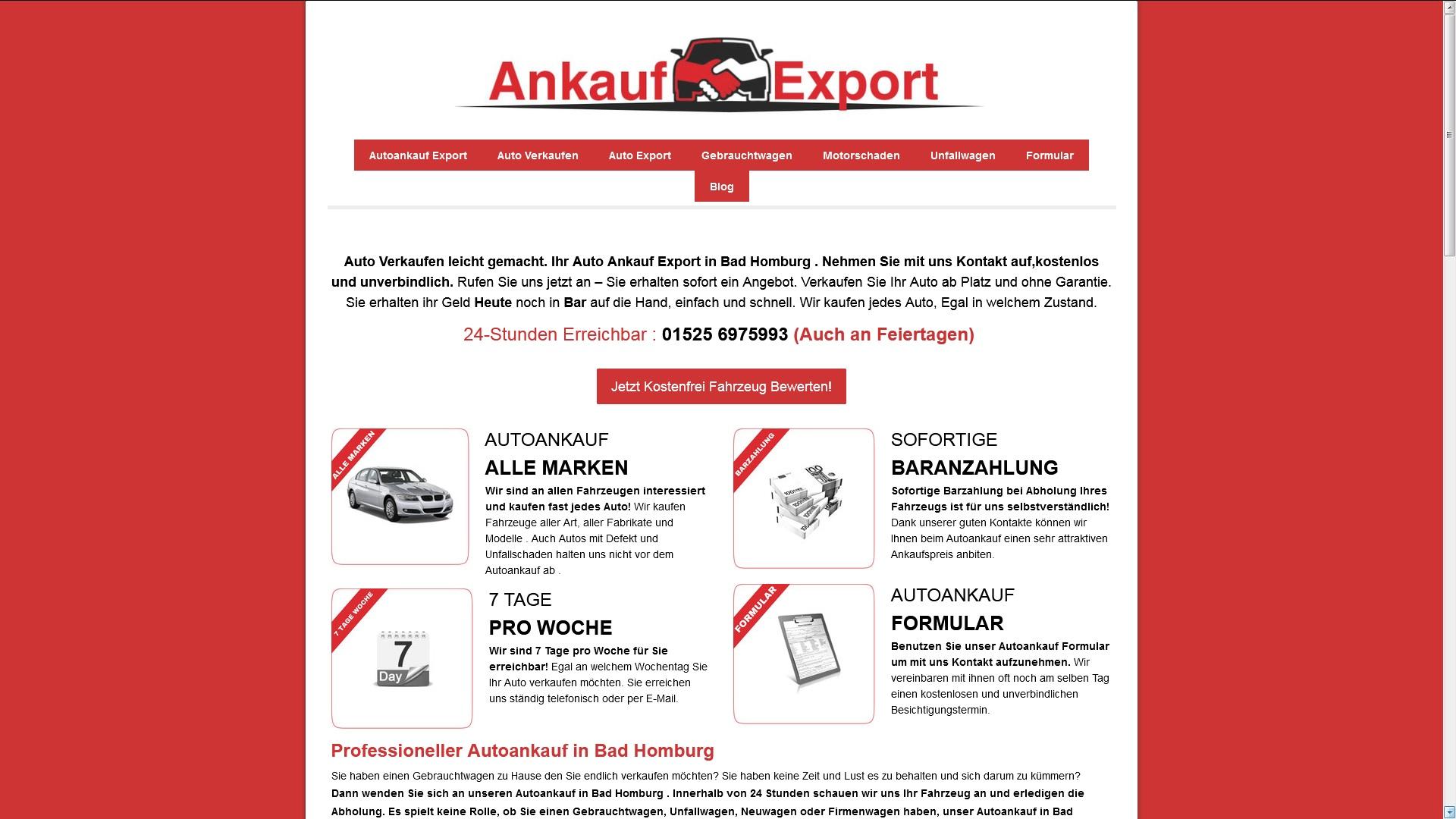 Autoankauf Bad Homburg
