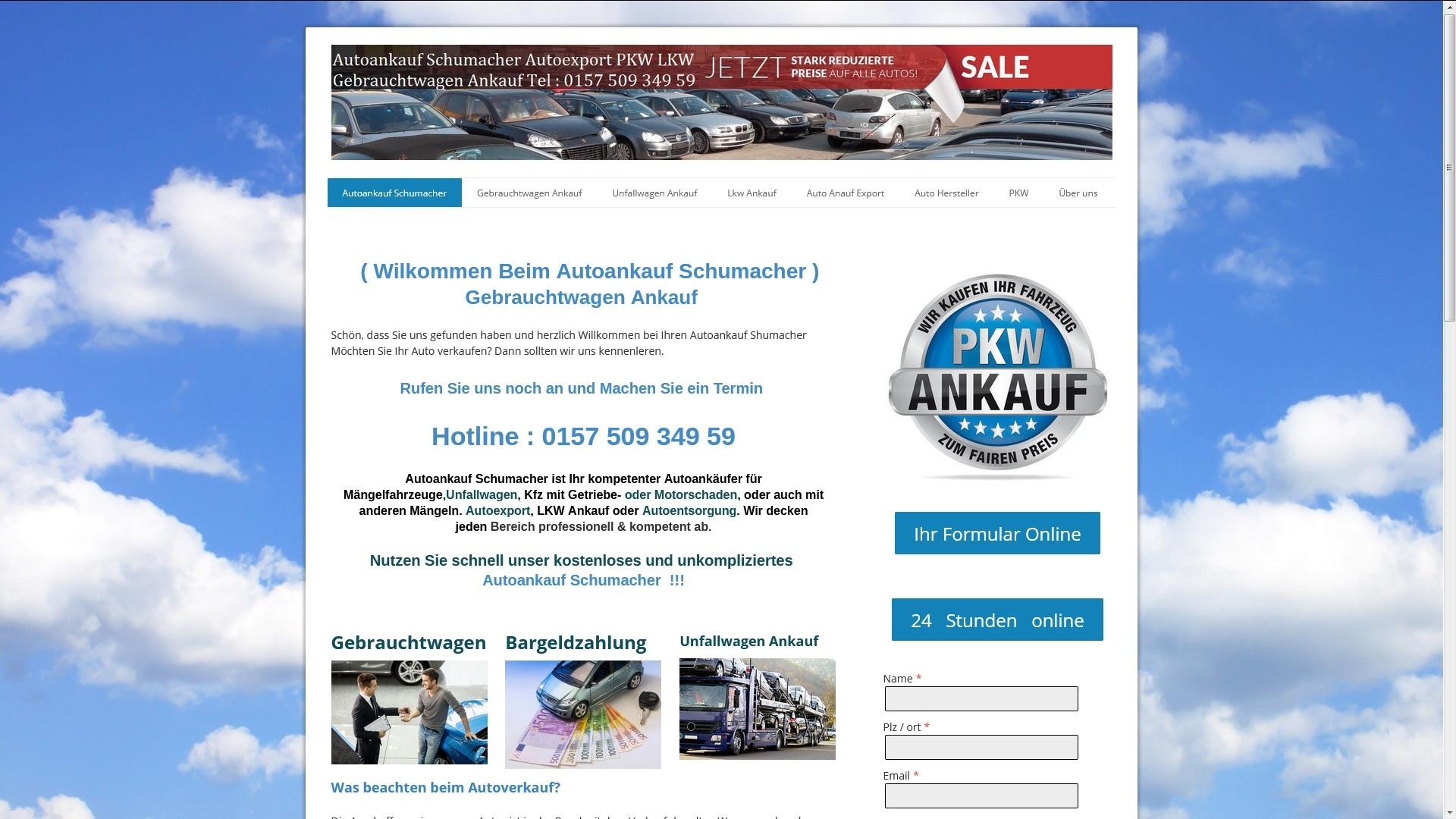 https://www.autoankauf-schumacher.de - Autoankauf Siegburg