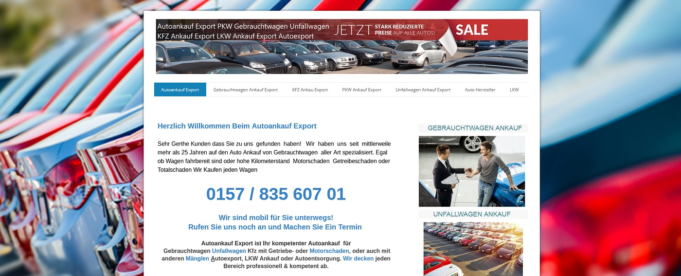 auto-ankauf-exports.de - Autoankauf Worms